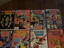 SUICIDE SQUAD #1,2,3,4,5,6,7,8,9,13, 14X2, 15, & 16X2- 5/1987. VF-NM. Lot of 15