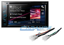NEW PIONEER CAR STEREO RADIO RECEIVER W/ INSTALLATION PARTS W/ CD/DVD PLAYER
