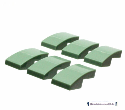 11477 LEGO®  6x Schrägstein 1x2x2//3 gerundet sandgrün 6196591
