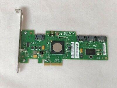 Sun LSI Logic SAS3041E-S 371-3991 4 Port PCI-E RAID Card