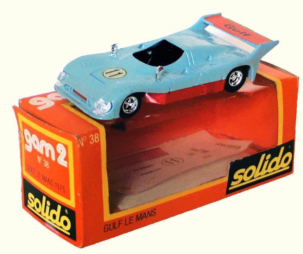 SOLIDO 1 43 Mirage Ford Gulf Le Mans Ref 38 1976  Livraison dans le Monde entier