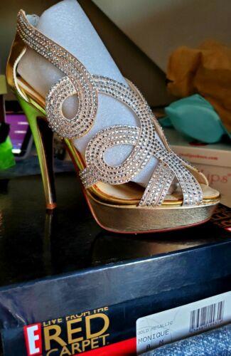 E! Red Carpet Shoes sz 8