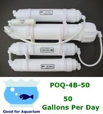 0PPM Portable 50 GPD Reverse Osmosis RO DI Filtration water system POQ-4B-50