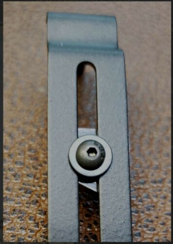 Adjustable Clipdraw for Glock 40 41 Black Belt Pant Clip Waistband Conceal GL-A