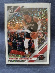 Russell-Westbrook-2019-20-Panini-Donruss-Optic-WHITE-SPARKLE-Prizm-Refractor-58
