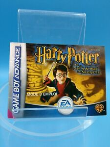 jeu-video-notice-BE-nintendo-gameboy-advance-FRA-harry-potter-chambre-secrets