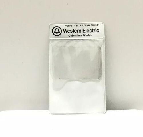 Vintage Western Electric Pocket Protector Columbus Works Vinyl Never Used