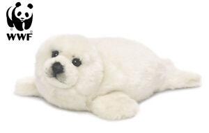 WWF Plüschtier Robbe (weiß, 38cm) lebensecht Schneerobbe Arktis NEU
