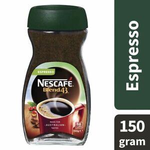 Nescafe Blend 43 Espresso Instant Coffee 150g ...