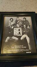 The Joyfull Noise Animals, Flowers, and Children Rare Promo Poster Ad Framed!