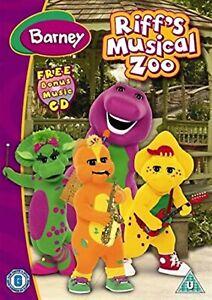 Barney-Riff-039-s-Musical-Zoo-2007-Barney-the-Dinosaur-Brand-New-UK-Region-2-DVD