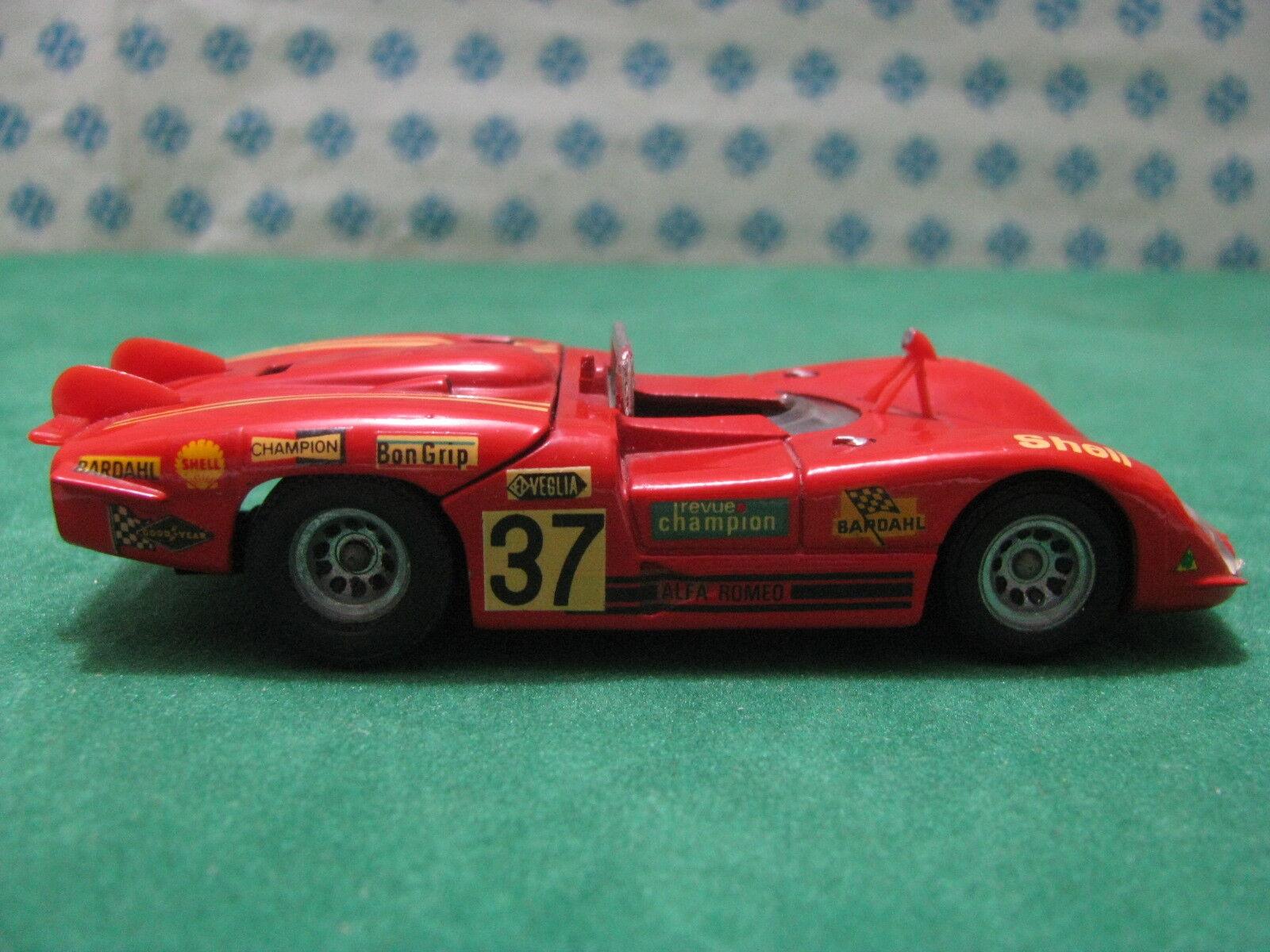 Vintage - ALFA ROMEO 33 3 coda lunga Le Mans Mans Mans 1970 - 1 43 Solido 187 896ea3