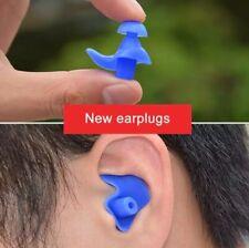 Premium Swim Ear Plugs Waterproof Spiral for regular swimmers diving 1 pair
