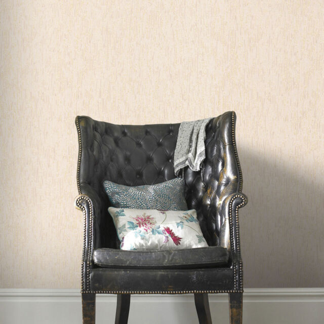 Boutique Heston Black Wallpaper