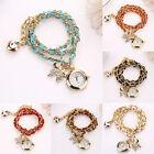 Fashion Women's Casual Stainless Steel Bracelet Analog Quartz Wrist Watch
