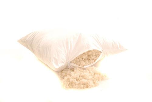 """12x 18/""""x18/"""" Coussin tiques avec zips 100/% Blanc Batiste Coton coquilles vides"""