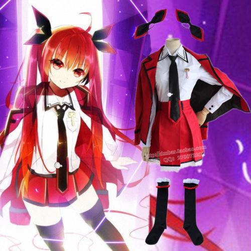 Anime DATE·A·LIVE Itsuka Kotori COS Clothing Cosplay Uniform School uniform