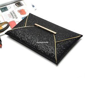 Oversized-Envelope-Clutch-Purse-messenger-Shoulder-HandBag-Multiple-Colour
