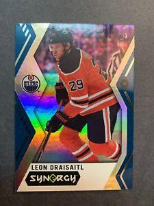 2017-18 Upper Deck Synergy Blue Parallel #14 Leon Draisaitl Edmonton Oilers