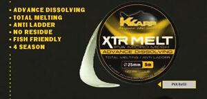 Kkarp-Xtr-melt-PVA-Retifil-CALZA-PVA-SOLUBILE-DA-PASTURAZIONE-37mm-RICARICA-TUBO