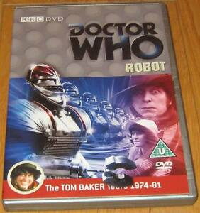 Doctor-Who-DVD-Robot-Excellent-Condition