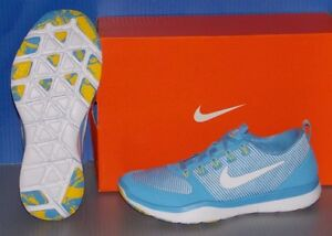 MENS NIKE FREE TR VERSATILITY AMP in colors BLUE / WHITE / YELLOW SIZE 10.5