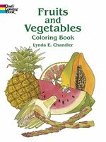 Coloring Book For Adults Fruits Vegetables Painting 45 Images Pages Anti Stress
