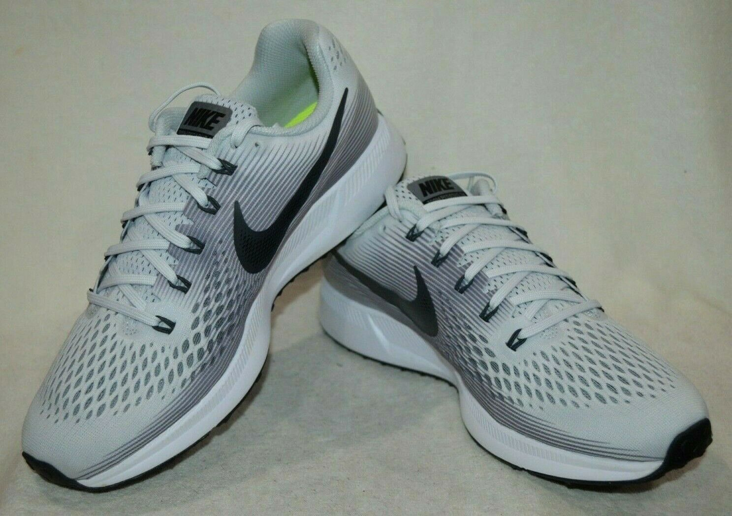 d310ebb35c11 Nike Air Zoom Pegasus 34 Mens Running Shoes 9 Pure Platinum 880555 ...