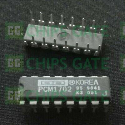 1PCS Audio D//A Converter IC BB//TI DIP-16 PCM1702P-J PCM1702 J PCM1702J PCM1702PJ