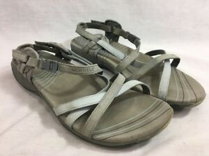 Image is loading Merrell-Aster-Ocean-Blue-Strappy-Sport-Sandals-Shoes- b4026f89b2