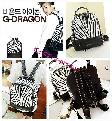 GD goods G-dragon bigbang bag schoolbag Backpack Kpop NEW