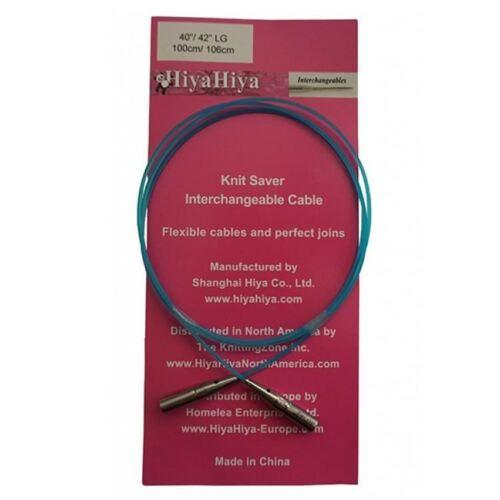 Dif. Sizes HiyaHiya Knit Saver Interchangeable Knitting Needle Cable