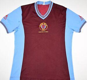 Camiseta Villa Hogar Fútbol Europa Le Campeones De 1982 tamaño Sportif S Aston Coq gnpwqH5Bzx