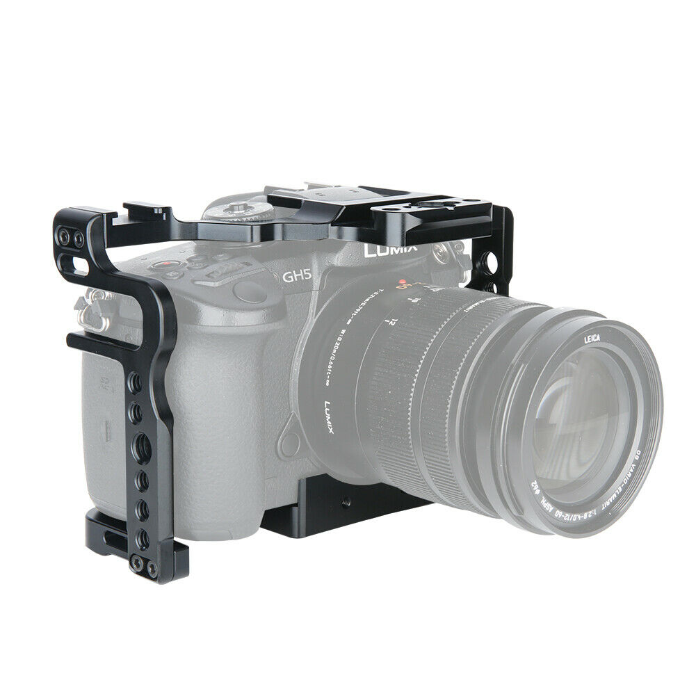 Jaula Para Cámara SmallRig Kit para Panasonic Lumix GH5//GH5S DMW-XLR1-2049 Cg