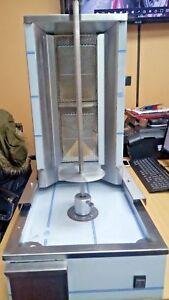 NEW 2  Burner CANMAC Doner Kebab Machine NATURAL GAS