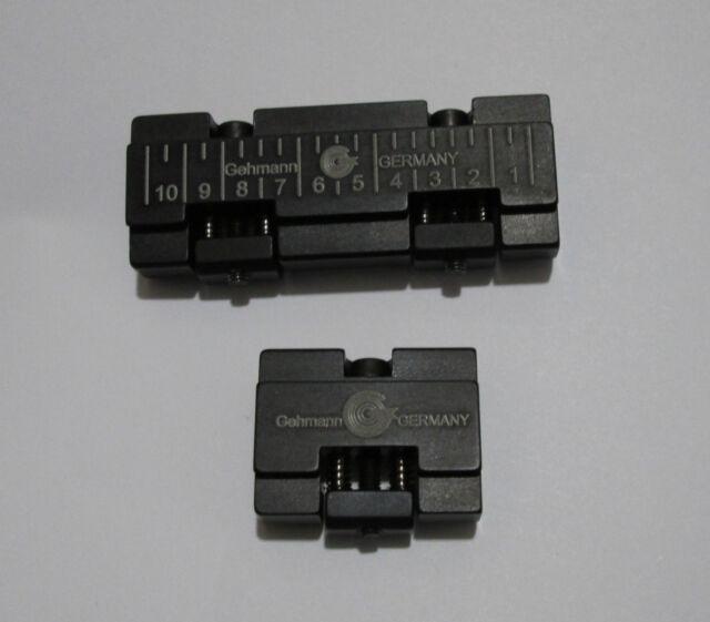 Gehmann 847 serie +7.5mm Riser Block set in Black