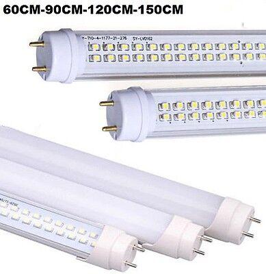 Analitico Neon Tubo Led Smd 60-90-120-150 Cm 6500k Luce Fredda Trasparente / Opaco T8 New Con Il Miglior Servizio