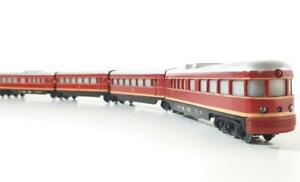SUPERB-1950-VINTAGE-MARKLIN-3025-AC-RARE-GERMAN-DB-4-CAR-034-TRIEBWAGEN-034-DMU-SET