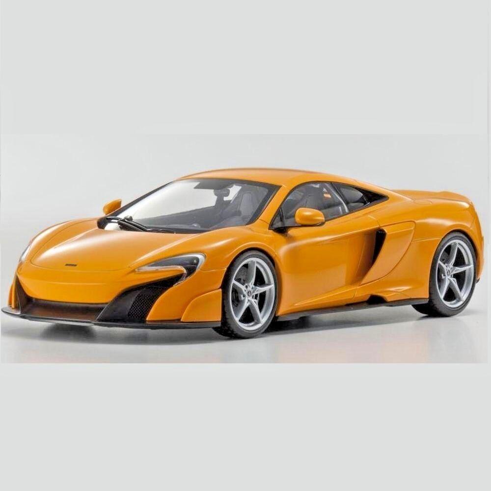 1 18 Kyosho McLaren 675 LT orange Diecast Model Car Car Car orange C09541P 852d0f