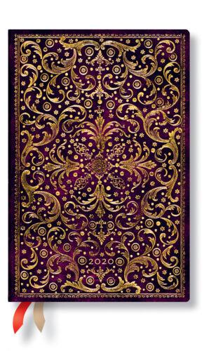 Paperblanks Kalender 2020 Mini Tagesüberblick Day 10x14cm Taschenkalender Planer