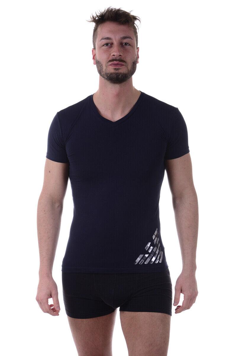 Emporio Armani T hemd schweißhemd Man Blau 1108107P745 135 Sz. S PUT OFFER
