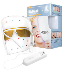Image Is Loading IlluMask Anti Acne Light Therapy Mask Clearer Smoother  Good Ideas