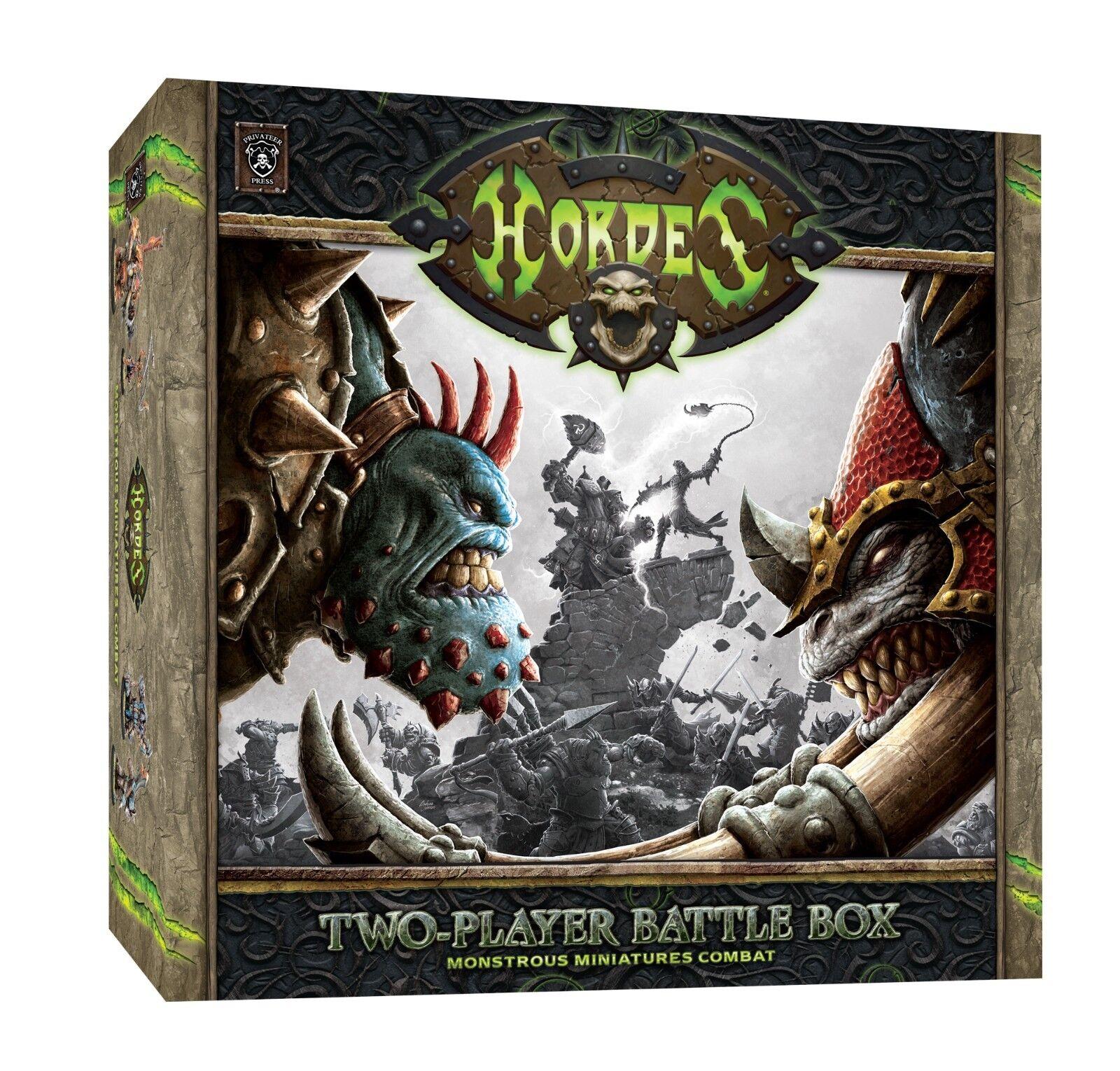 Freibeuter presse horden zwei spieler battlebox pip 70002 nib