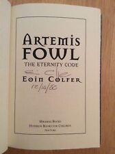 Artemis Fowl: The Eternity Code Bk. 3 by Eoin Colfer (2003, Hardcover)