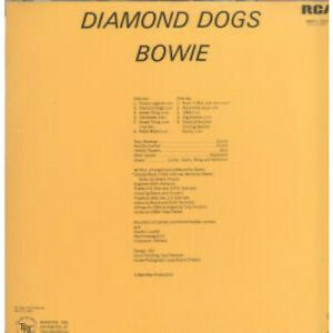 DAVID-BOWIE-Diamond-Dogs-LP-VINYL-South-Africa-Rca-11-Track-In-Single-Sleeve