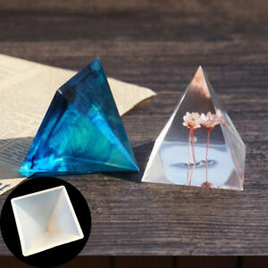 Pyramid-Silicone-Mould-DIY-Resin-Decorative-Mold-Craft-Jewelry-Making-Mold