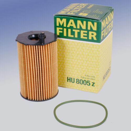 MANN HU 8005 Z Ölfilter Filtereinsatz für Audi Porsche VW