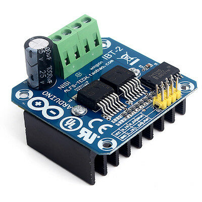 Hot Semiconductor BTS7960B Stepper Motor Driver 43A H-Bridge Drive PWM Arduino