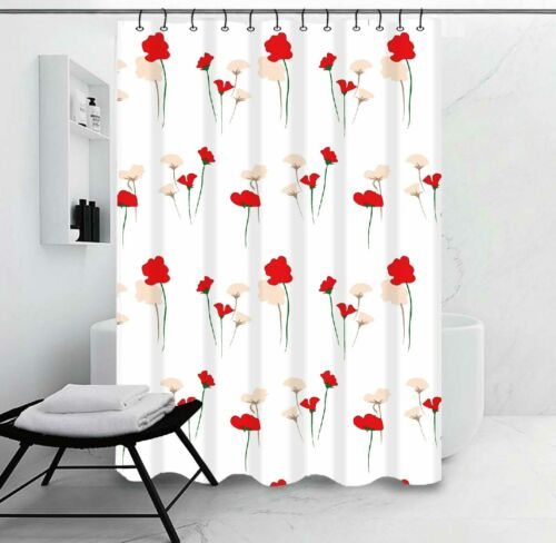 ALL FOR YOU Waterproof Mold  Mildew-Resistant Fabric Shower Curtain *27 DESIGN*