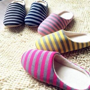 Mens-Womens-Couple-Soft-Anti-Scivolo-Pantofole-Home-Indoor-Floor-Shoes-6-Colors